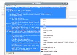 Copy HTML Content