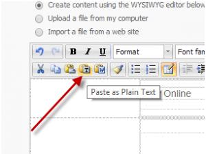 Paste As Plain Text