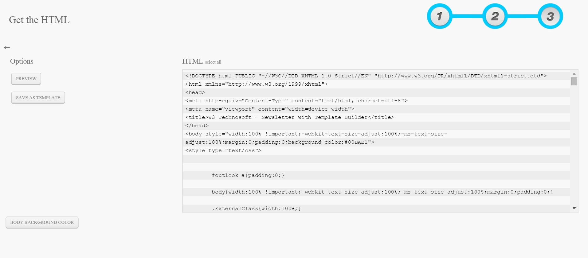 Großzügig W3c Html Vorlage Bilder - Entry Level Resume Vorlagen ...