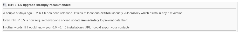 6.1.6 security gap closed